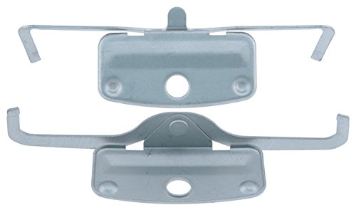ACDelco 18K1698X Professional Front Disc Brake Caliper Hardware Kit with Clips ()