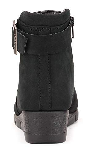 Stivaletto Pan Flexx The Donna Forte Nero Zeppa xvtx6