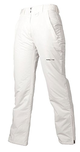 Arctix Women's Insulated Snow Pant, White, X-Large Short