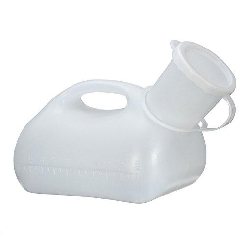 Travel Supplies - White 1000ml Male Men Urinal Spill Resista
