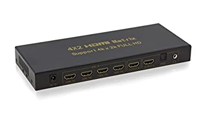 ExpertPower® 1x2 HDMI Splitter | 2 Port | 1 in - 2 out | Full HD/3D | 1080P | HDMI 1.3 | HDTV | PS4 / PS3 | XboxOne / 360 | DVD | Blu-ray | DTS Digital | Dolby Digital