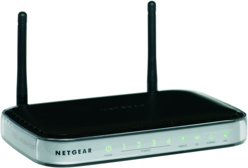 NETGEAR DGN2000 Wireless-N Router with Built-in DSL Modem by NETGEAR