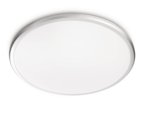 Philips myLiving Twirl - Plafón, LED, iluminación interior, color gris