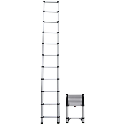 Telesteps 1400E 14ft Climbing Height Telescopic Extension Ladder ()