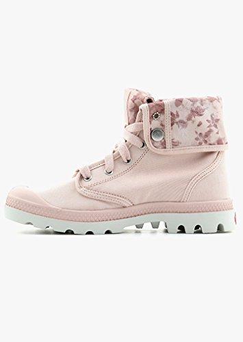 PalladiumBaggy - botas Desert de caña media forradas Mujer Pink