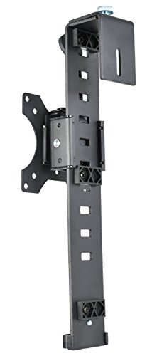 VIVO Black Office Cubicle Bracket VESA Monitor Mount Stand Hanger Attachment Adjustable Clamp for 17'' to 32'' Screen (MOUNT-CUB1) by VIVO (Image #7)
