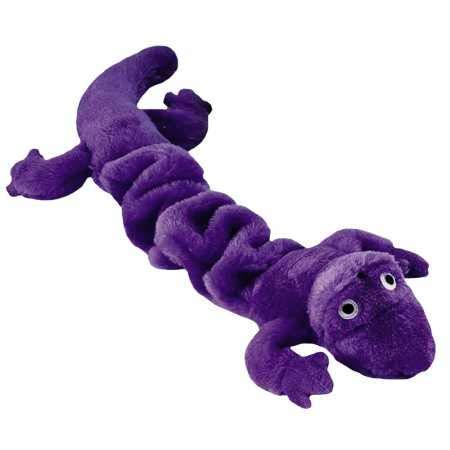 Zanies Bungies Gecko Dog Toys, Purple, 16