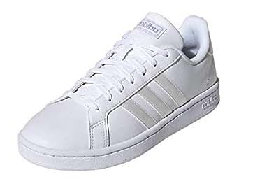 adidas Womens Grand Court White Size: 5 US