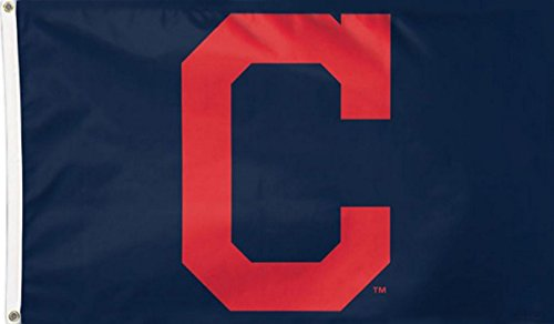 Cleveland Indians Banner (Five Star Flags New Cleveland Indians Flag, Indians Flag, Flag for Indoor or Outdoor Use, 100% Polyester, 3 x 5 Feet.)