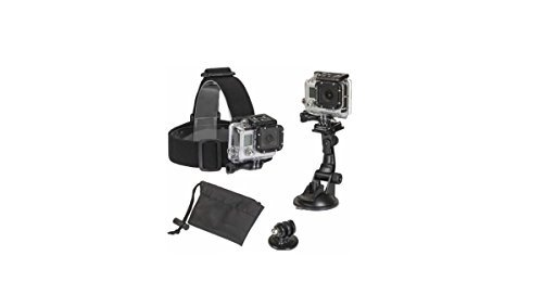 Sunpak 3-Piece Action Camera Accessory Kit