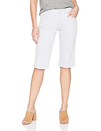 Democracy Women's Ab Solution Bermuda Short, Optic White 2, 10