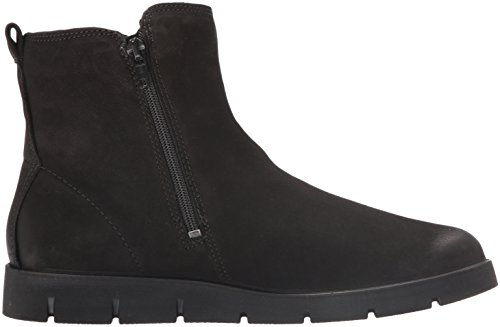 Boot Shoes Ankle Bella Women's Black nubuck ECCO Double Zip dpHYqPCCw
