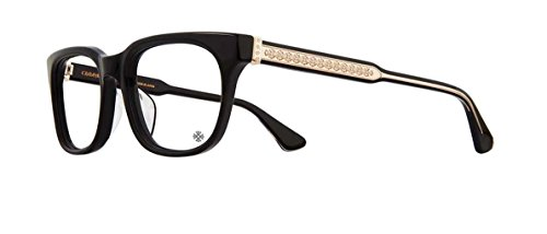 Chrome Hearts - Cranker - Eyeglasses (Black-Gold Plated, - 18k Eyeglasses Gold Frames