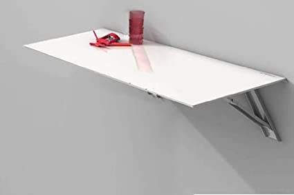 Mesa abatible de cocina Single Vulcano, con cristal templado ...