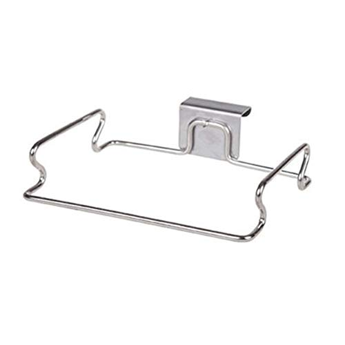 (Hooks & Rails - 1pcs Stainless Steel Cupboard Drawer Door Waste Bin Stand Scrap Trap Bowl Dustbin Hanging Rack - Bin Trash Hook Dustbin Garbag Hanger Hook Stand Metal Angle Hooks Kitchen)