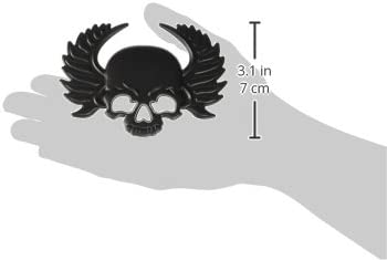 Trimbrite T1929 3D Emblem Skull Matte