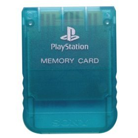 Amazon com: Sony Playstation Memory Card - Emerald: Video Games