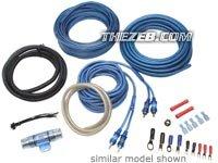 UPC 712660317328, Lightning Audio 700 Watts Max (350 Watts RMS) Complete Amplifier Install Kit (SXCK8-04)