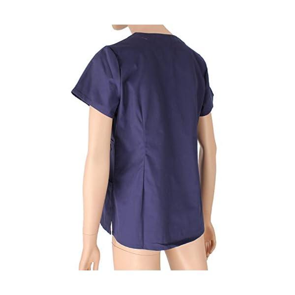 MISEMIYA Medical Uniform Scrub Top Camisa de Sanitario Unisex Adulto 5