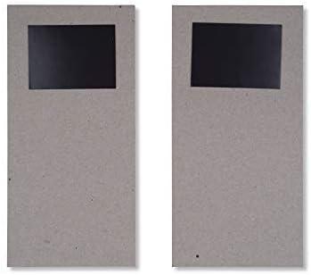 Tri-Coastal Design Shopping List con Decorazioni Natalizie Set di 2 Block Notes Natalizi con Magnete Deer
