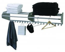 Ex-Cell Kaiser 707-60AC Wall Mounted Coat Hat Rack by Ex-Cell Kaiser