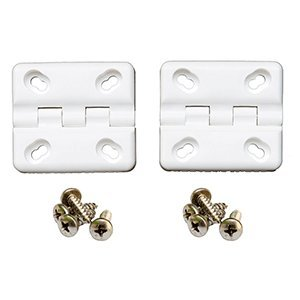 COOLER SHIELD Replacement Hinge f/Coleman & Rubbermaid Coolers - 2 Pack ()