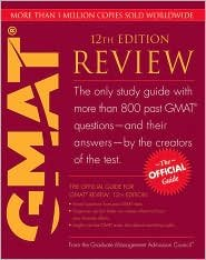 The Official Guide for GMAT Revie 12th (twelve) edition Text