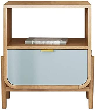 Nieuw En Mode MBZL bijzettafel, Nordic End, tafellamp, bijzettafel, nacht voor woonkamer, naast tafel met lade, slaapkamer  CFcMCvh