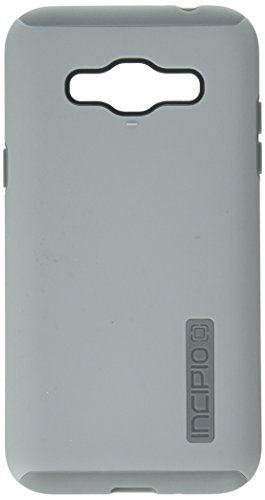 (Incipio Cell Phone Case for Samsung Galaxy J3 - Retail Packaging - Gray/Gray)