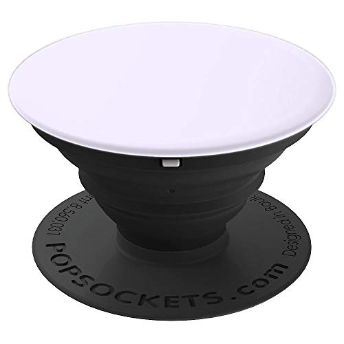 Light Greyish Violet Color - Pastel - Light Lavender Solid - PopSockets Grip and Stand for Phones and Tablets