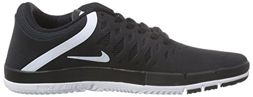 Sb Nike Free Schwarz Basses white 002 Adulte Black Baskets Noir Mixte aaSrw