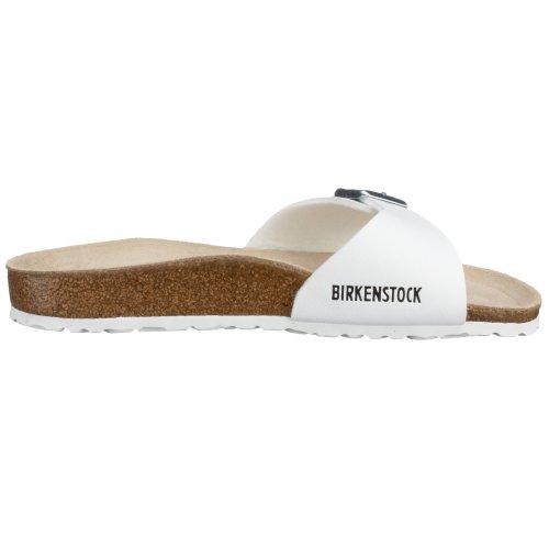 Birkenstock Original Madrid Birko Flor Estrecho, , White, 040733 43,0