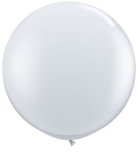 jewel-diamond-clear-3ft-giant-qualatex-latex-balloons-x-2-by-jewel-finish-solid-colour-3ft-latex