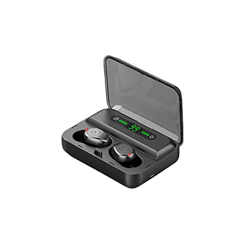 Wireless Earbuds TOA F9 Comfort Design 5.0 True Wireless IPX7 Waterproof Bluetooth Earbuds, Built-in Microphone, S bass HI-FI Stereo Wireless Headphones, Digital LED Digital, for iOS and Android