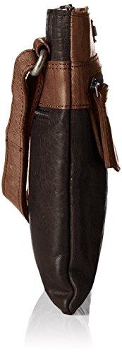 Spikes & Sparrow Spikes & Sparrow - Bolso de hombro Mujer Braun (Braun (Dark Brown))