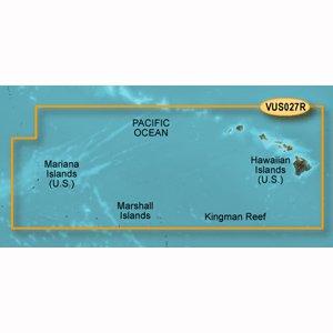 Garmin BlueChart g2 Vision - VUS027R - Hawaiian Islands - Mariana Islands - microSD/SD -