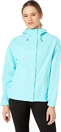White Sierra Women's Trabagon Rain Shell Aqua Small ()