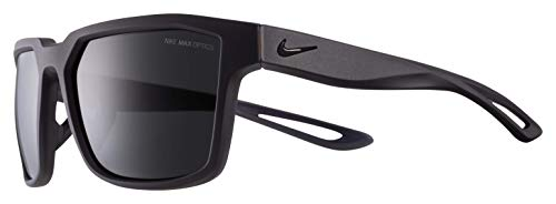 Nike Fleet Square Sunglasses, Matte Oil Grey, 55 ()