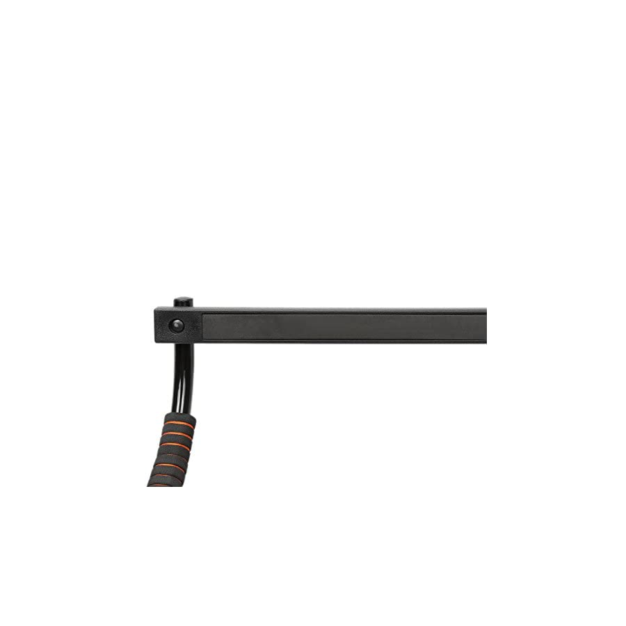 X MAG Doorway Pull Up Bar Chin Up Exercise Fitness Door Mounted Limited Edition Black/Orange