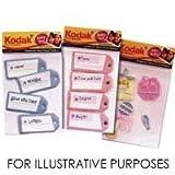 Kodak Dimensional Self Adhesive Stickers - Baby Girl Tag Assortment