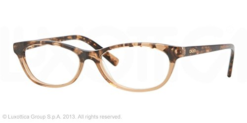 Dkny Eyeglasses 3557 Brown Havana On Brown Demo Lens 50 15 - Dkny Sale Sunglasses