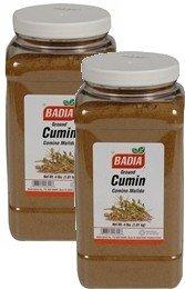 Badia Cumin Ground 4 lbs Pack of 2