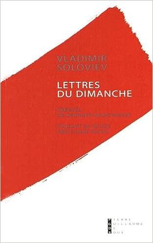 En ligne téléchargement gratuit Lettres du dimanche pdf