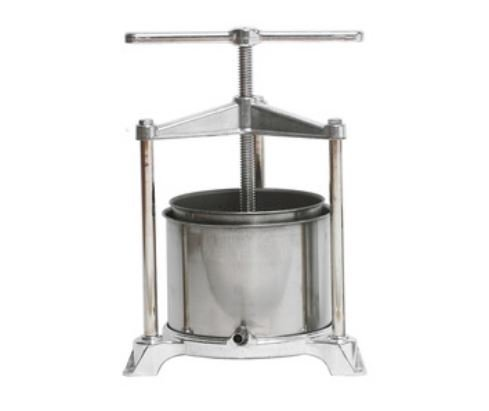 Fruit Press - Italian, Stainless Steel (5 Liter) by PALUMBO