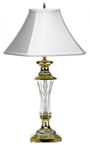 Waterford Crystal 29 1/2 Inch Florence Court Lamp   Table Lamps   Amazon.com