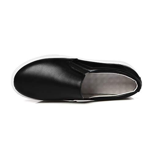 1to9 Uretano Para De Negro Senderismo Mms06595 Mujer Zapatillas TqrT7