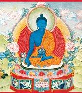 Medicine Buddha - Thanka Poster