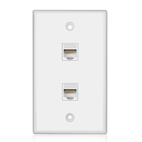 tnp ethernet network cat6 wall plate