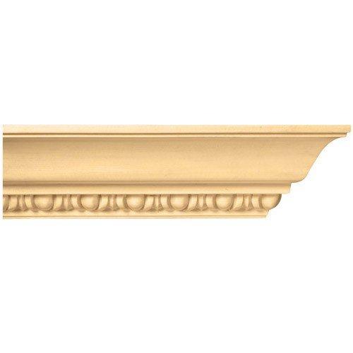 Brown Wood Inc. 01807002HM1 Full Egg And Dart Decorative Crown Molding, Hard - Molding Crown Dart
