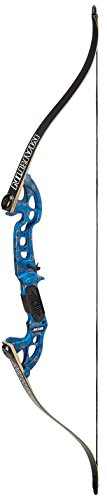 Martin Archery Jaguar Elite Water Reaper 40# Bow, Blue/Camo, Large